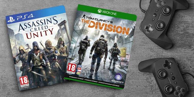 Konzolové pecky od Ubisoftu: samotné i v balíčku
