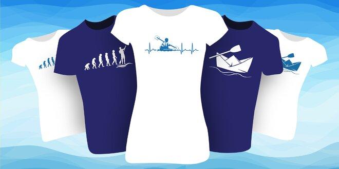 Pánská a dámská trička pro vodáky: 6 vzorů