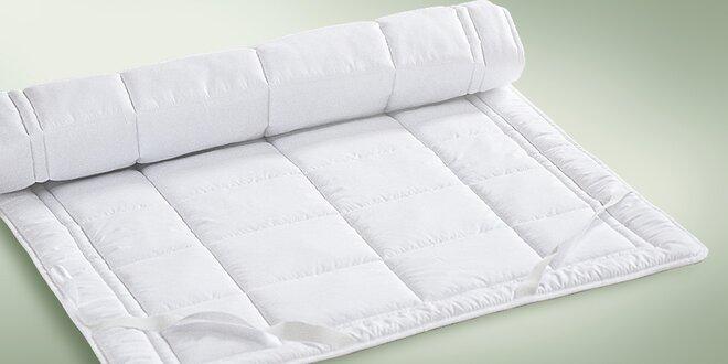 Podložky na matrace plněné termopojeným rounem