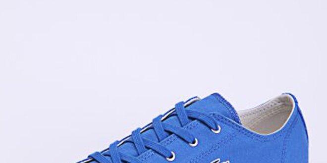 15625bef52c Dámské světle modré plátěné tenisky Lacoste