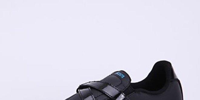 Dámské černé tenisky Lacoste se suchým zipem