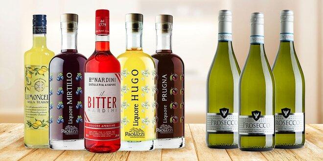 Namíchejte si drink: sety Spritzu a 3 lahví prosecca
