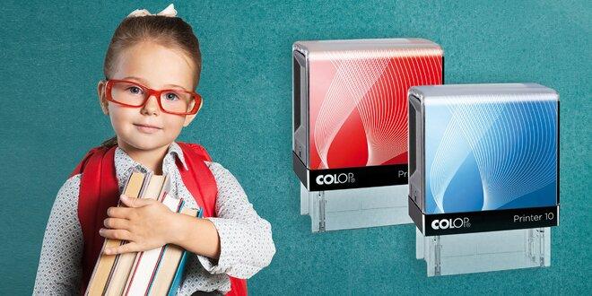 Vychytané razítko k označování školních potřeb