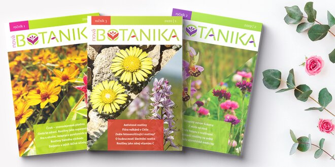 Časopis Nová Botanika v tištěné i digitální verzi