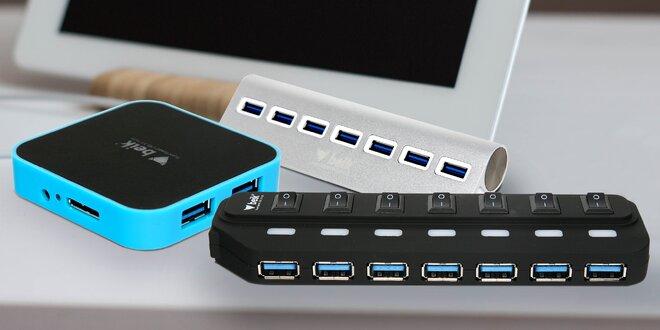 Výběr USB 3.0 rozbočovačů pro vaše PC či Mac