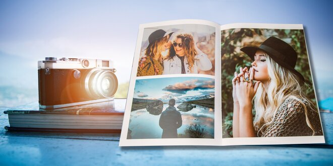Fotoknihy A5 až A3: 40, 80 nebo 104 stránek