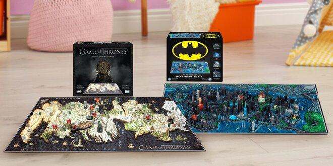 4D a 3D puzzle: Harry Potter, Pán Prstenů, Čína