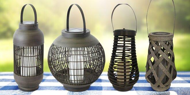 Nechte zahradu zazářit: solární lampy s LED diodou