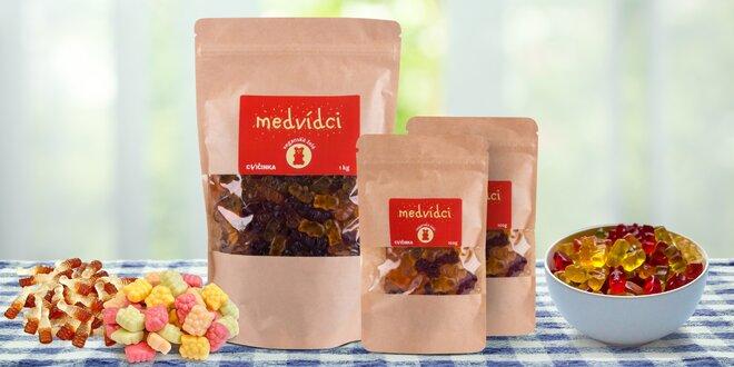 Želé bonbony z rostlinných složek vč. vegan variant