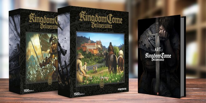 Puzzle a artbook Kingdom Come: Deliverance