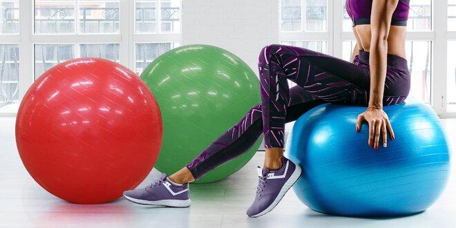 Velké gymnastické míče s pumpičkou, 3 barvy