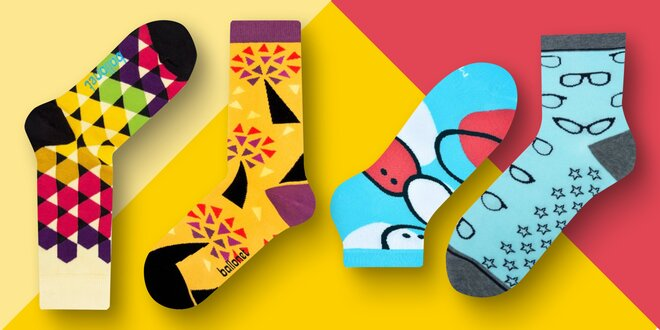 Sety dámských a pánských ponožek: vysoké i nízké
