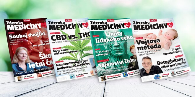 Časopis 100+1 Zázraky medicíny, ročník 2020