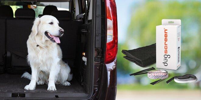 Ochranná síť do auta proti šíření zvířecích chlupů