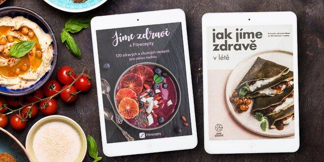 Kuchařky Jíme zdravě v elektronické verzi