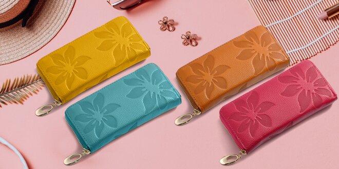 Elegantní dámské peněženky z pravé kůže
