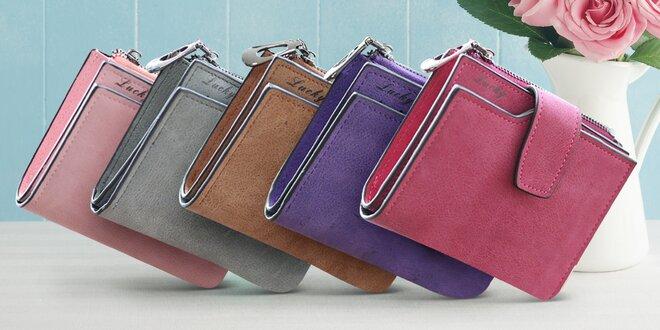 Dámské peněženky v pastelových barvách