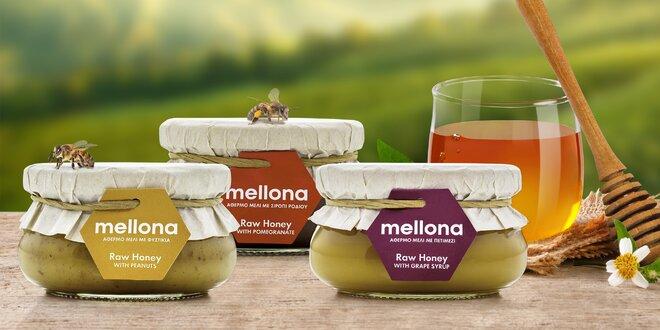Raw med s oříšky, karobem nebo skořicí