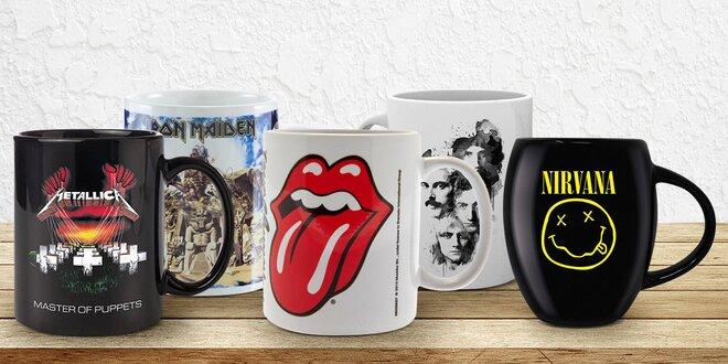 Hrnky rockových hvězd: AC/DC, Pink Floyd a další