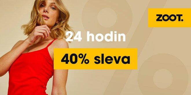 40% sleva na ZOOT.cz jen dnes: móda od hlavy k patě