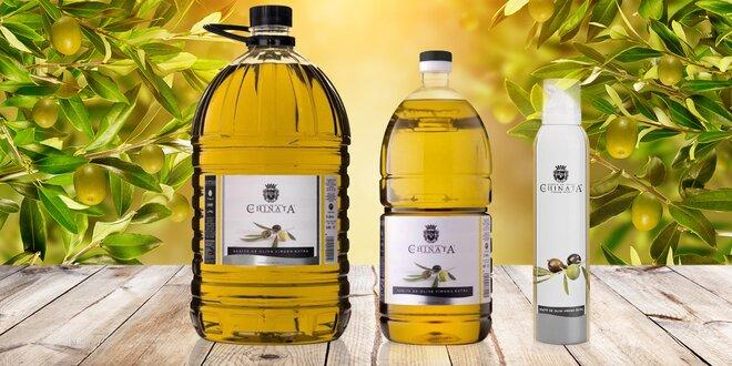 Extra panenský olivový olej ve spreji či v balení