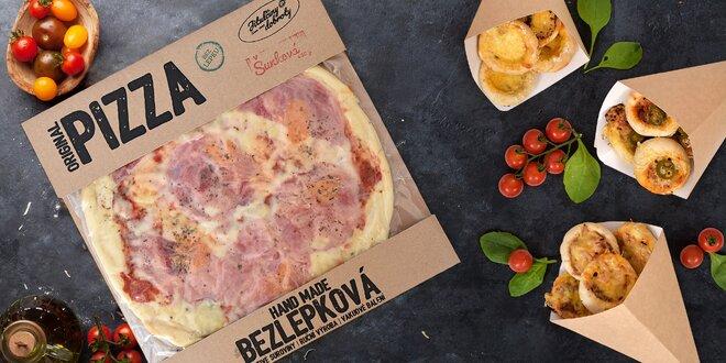 Čerstvé a chlazené pizzy až domů, doprava zdarma