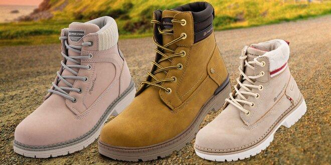 Kotníková obuv Alpine Pro: pánská, dámská i dětská