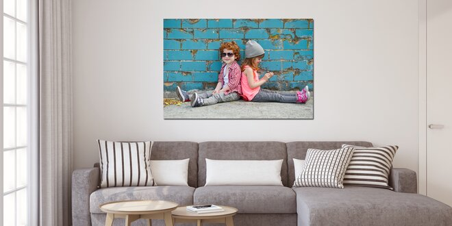 Fotoobraz na bavlněném plátně ve 3 velikostech