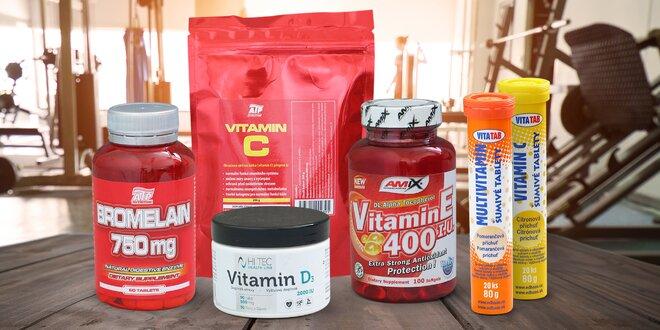 Doplňky stravy: vitamin C i B-Komplex