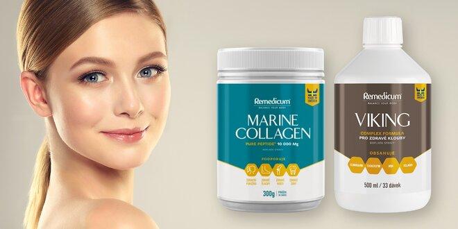 Rybí kolagen pro mladší pleť a na klouby