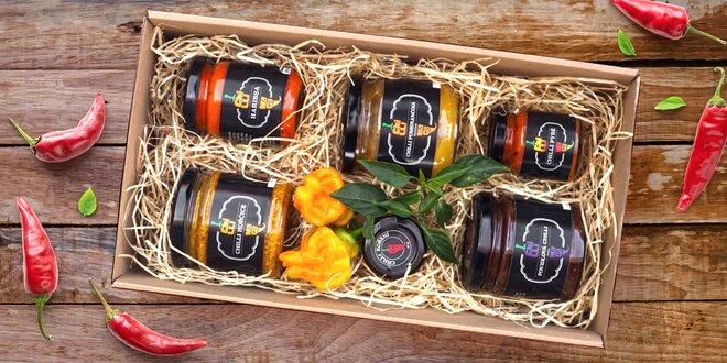 Balíček pálivých dobrot od ChilliMaga: 6 produktů