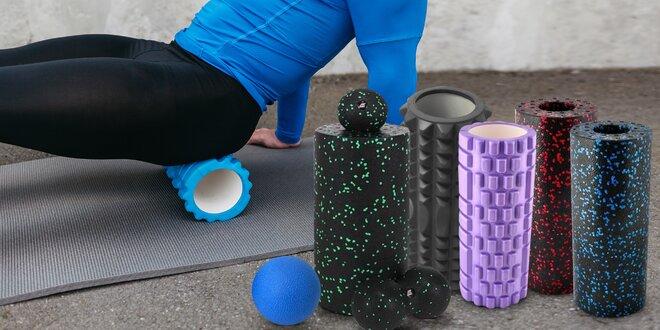 Masážní koule a válce na cvičení i rehabilitace