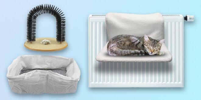 Odpočívadlo, záchod či škrabadlo pro kočičí miláčky
