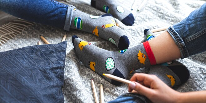 Veselé ponožky Scholl: vysoké i nízké, pánské i dámské