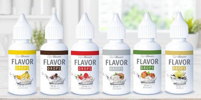 Flavor Drops: Kapky bez kalorií pro ochucení jídel