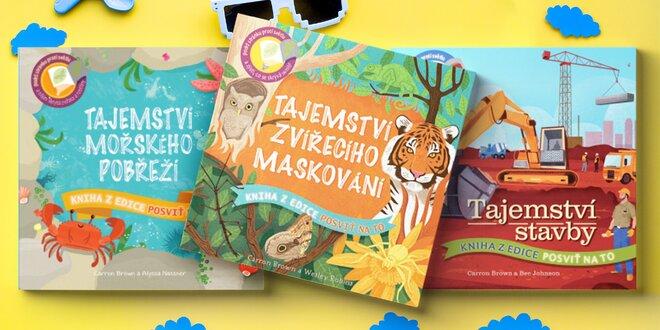 Posviť na to! Knihy pro děti plné objevování