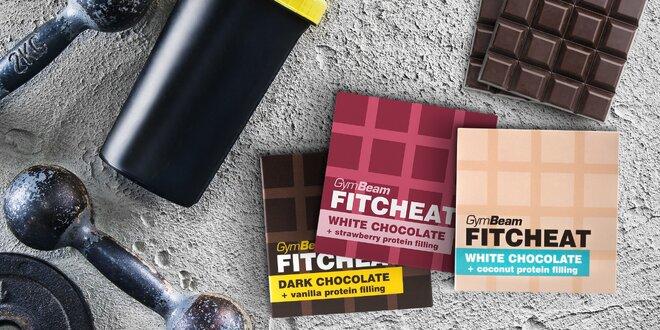 Mlsejte bez výčitek: proteinové čokolády, 3 příchutě