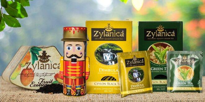 Cejlonské čaje v dárkových baleních: sypané i sáčkové
