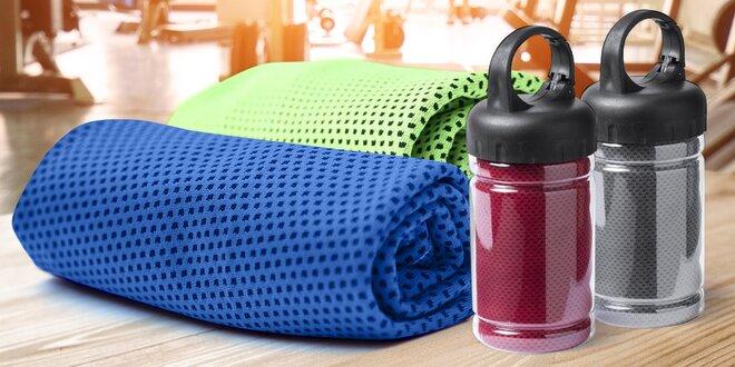 Chladicí ručníky pro rychlé osvěžení v pěti barvách