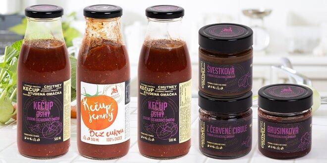 Studené dochucovací omáčky: čatní i kečup