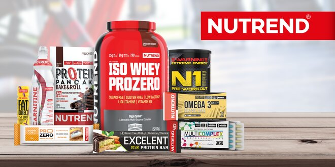 Dárkový voucher na nákup sportovní výživy Nutrend