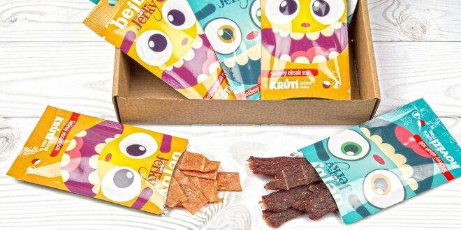 10 balíčků sušeného masa (nejen) pro děti