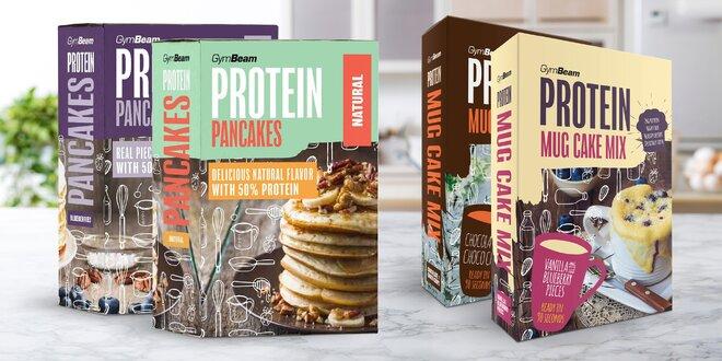 Instantní proteinová jídla: pizza, chléb i palačinky