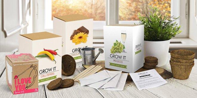 Sady pro pěstování papriček, kávy nebo stromečku