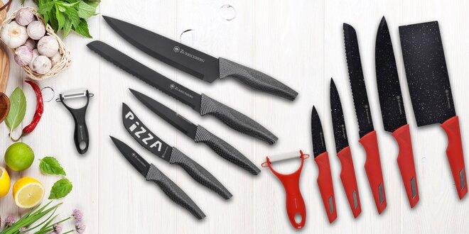 Sady nožů s keramickou nebo mramorovou čepelí