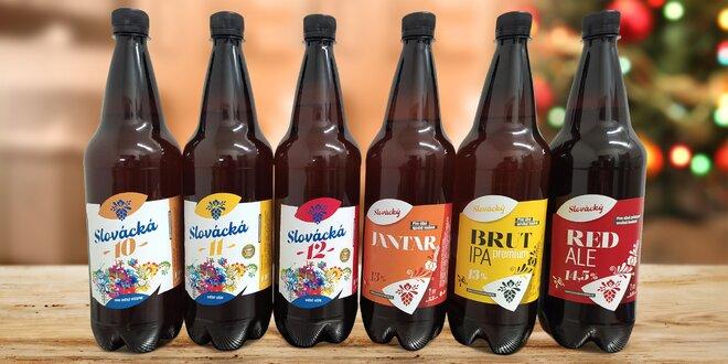 Vánoční set Slováckého pivovaru: ležák i speciály