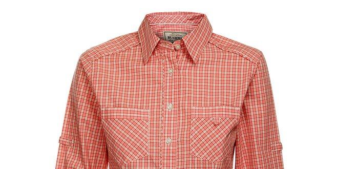 Dámská červená kostkovaná košile Bushman