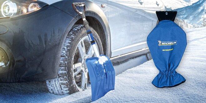 Škrabka na autosklo a teleskopická lopata na sníh