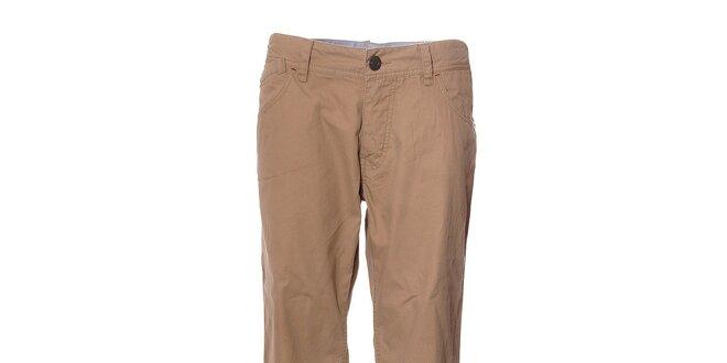 Pánské světle hnědé chino kalhoty Timeout