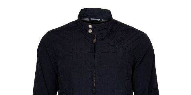 Pánská černá podzimní bunda Timeout